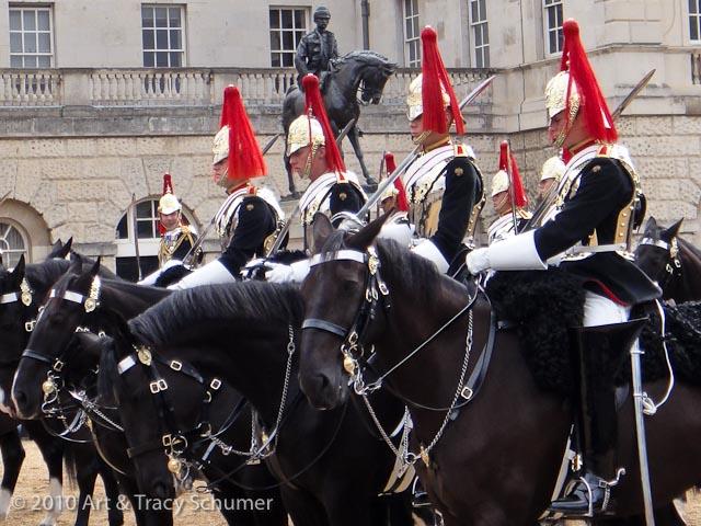 horses in london